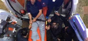 Rize Emniyet Müdürü Altuğ Verdi'yi şehit eden polis memuru ambulansla adliyeye getirildi