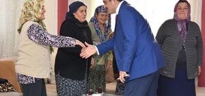 Başkan Alıcık, Arslanlılı kadınlarla bir araya geldi