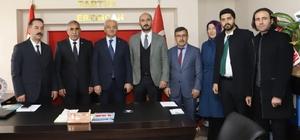 MHP İl Başkanı Salih Aksu'ya Hayırlı Olsun Ziyareti