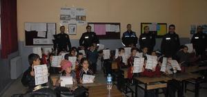 Bulanıklı öğrencilere 'güvenlik ve trafik' eğitimi