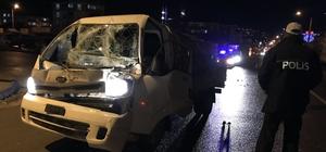 Araçta sıkışan sürücüyü itfaiye ve AFAD ekipleri kurtardı