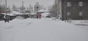 Bulanık'ta kar yağışı