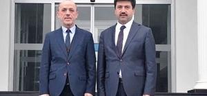 Rektör Sarıbıyık'tan  Öztürk'e iade-i ziyaret