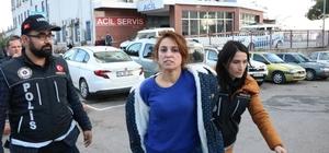 """Uyuşturucu satmaktan tutuklanan kadının gözyaşları Kahramanmaraş'ta uyuşturucu satıcılarına yönelik operasyonda gözaltına alınan ve çıkarıldığı mahkemece tutuklanan kadın,  """"Ben suçsuzum arada beni yakıyorlar"""" dedi"""