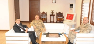 Diyarbakır Jandarma Bölge Komutanı Zafer Koç Midyat'ta