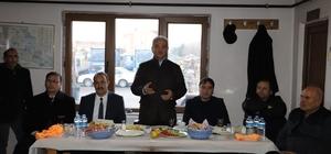 Başkan Başsoy, Fen İşleri personeliyle biraraya geldi