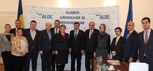 AK Parti heyeti Romanya'da