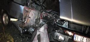 Artvin'de hurdaya dönen araçlardan yaralı kurtuldular: 2 yaralı