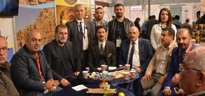 'Travel Turkey İzmir' fuarına Nusaybin standı damga vurdu
