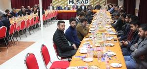 MÜSİAD 'Dost Meclisi'nin' Konuğu TSO Başkanı Sadıkoğlu oldu