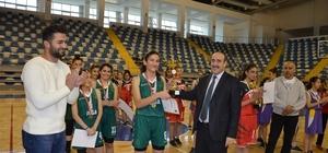 Okullar Arası Genç Kızlar Basketbol Müsabakaları sona erdi