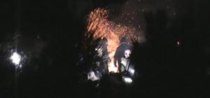 Yaylada silah atan arkadaşlarına bir de akıl verdiler Yaylaya çıkan off-road grubu ateş başında alkol içti, silah attı