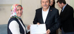 İstanbul Ticaret Üniversitesi hocalarına sertifikaları verildi Romalılar dönemine kadar dayanan Lefke bezinin ihraç edilecek konuma getirilmesi hedefleniyor