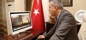 """Vali Elban, AA'nın """"Yılın Fotoğrafları"""" oylamasına katıldı"""