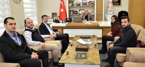 Öğrenci Meclisi Başkanı Kılın'dan Başkan Öztürk'e teşekkür  ziyareti