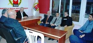 Başkan Adayı Mahmut Polat, Anadolu Basın Birliğini ziyaret etti