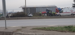 Sakarya'da otomobiller çarpıştı: 4 yaralı