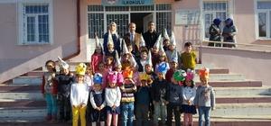Çerkeşli Köyü İlkokulu'nda Yerli Malı Haftası'nı kutlaması