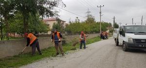 Bafra'da mıntıka temizliği