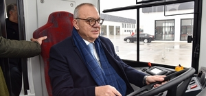 Elektrikli otobüsler yeni yılın ilk aylarında hizmete girecek