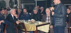 Alaşehir Ziraat Odası delegeler ve muhtarlarla buluştu