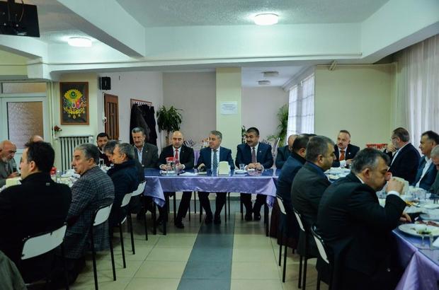 Tarımla ilgili kurum ve kuruluşlar işbirliği için toplandı