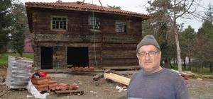 Çaycuma'da geleneksel köy evinin kurulumu tamamlandı