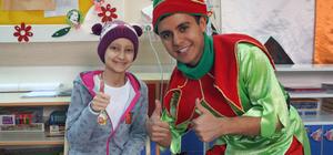 Hastanede çocuklar için yeni yıl etkinliği