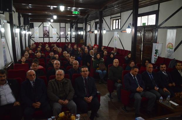 """Çiftçilere tarım sigortası hakkında bilgi verildi Kastamonu İl Tarım ve Orman Müdürü Osman Yaman: """"Tarımsal üretim üzeri açık fabrika o nedenle doğal risklerle karşı tarım sigortasını yaptırılmalı"""