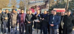 Doğu Türkistan için basın açıklaması