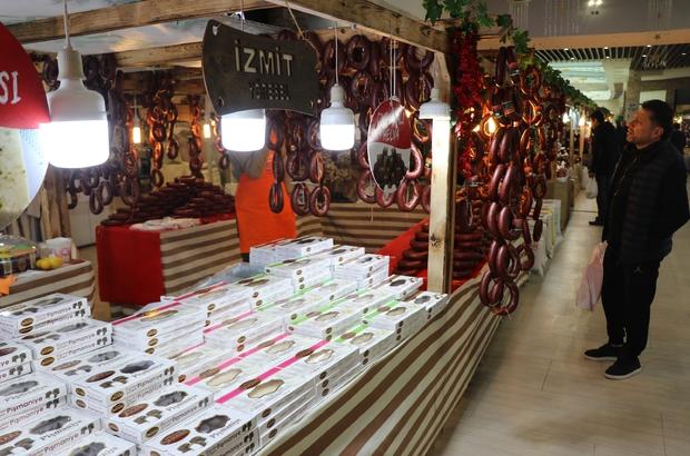 Bolu'da, yöresel ürünler pazarı kuruldu 81 ilin yöresel ürünleri Highway AVM'de satışa sunuldu