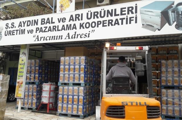 Aydın Balı AB'ye girdi Aydın'dan Macaristan'a bal ihracatı başladı