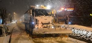 Başkan Gül'den gece kar mesaisi Şehirdeki sokak hayvanları toplanarak barınağa götürüldü