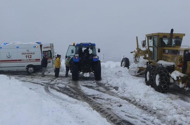 Büyükşehirden 'kar' mesaisi Hastalar hastaneye yetiştirildi, mahsur kalan 3 kardeş kurtarıldı, kapalı yollar açıldı