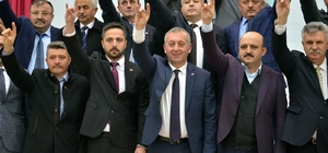 """MHP Kastamonu İl Başkanı Yüksel Aydın: """"Gece gündüz, 7/24 çalışıp halkın gönlüne gireceğiz"""" Milliyetçi Hareket Partisi Kastamonu İl Başkanlığı Aday Tanıtım programlarına Azdavay'da devam etti"""