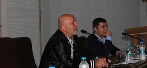 Alanyaspor Başkanı Çavuşoğlu, öğrencilerle buluştu