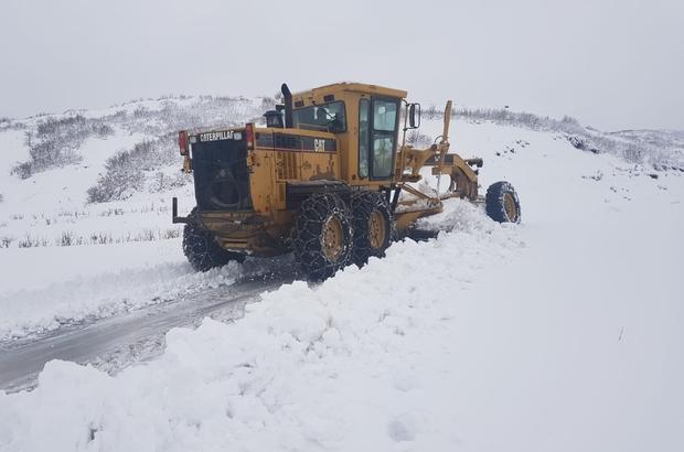 Bingöl'de 107 köy yolu ulaşıma açıldı