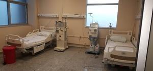 Kargı Devlet Hastanesi'ne diyaliz cihazı