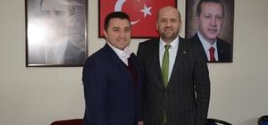 Başkan Bakıcı'dan yeni Başkan Ersoy'a hayırlı olsun ziyareti