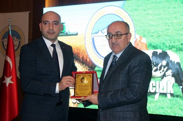 """KTB Başkanı Bağlamış Kayseri'nin tarım ve hayvancılık raporunu sundu Kayseri Ticaret Borsası Yönetim Kurulu Başkanı Recep Bağlamış: """"Tarımsal ve hayvansal üretimin artırılması elzemdir"""""""