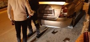 Manavgat'ta Feci kaza ucuz atlatıldı: 1 yaralı