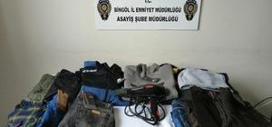 Bingöl'de hırsızlık operasyonları: 9 tutuklama