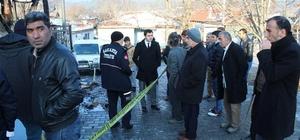 Yangında hayatını kaybeden vatandaşın ailesine kaymakamdan ziyaret