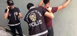 2018'de Sakarya'da polis ekiplerince 27 bin 859 şahıs yakalandı