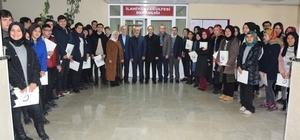 Lise öğencileri Düzce Üniversitesi'ni ziyaret etti