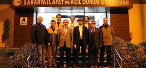AFAD Başkanı Güllüoğlu, Sakarya AFAD ekiplerini ziyaret etti