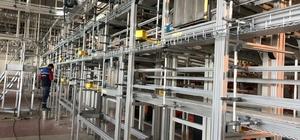 ÇAYKUR'un yeni paketleme fabrikasında test üretimi başladı