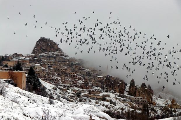 Kapadokya'yı 2018'de 2 milyon 949 bin 542 turist ziyaret etti Kapadokya bölgesinde turist sayısı yüzde 33 arttı