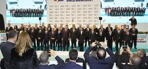 """Cumhurbaşkanı Erdoğan İzmir'in adaylarını açıkladı AK Parti'li 7 belediye başkanından 5'i yerini korudu Cumhur İttifakı kapsamında 5 ilçede MHP aday çıkardı Erdoğan'dan çiftçilere müjde Erdoğan'dan """"yaşam tarzı"""" yorumu"""