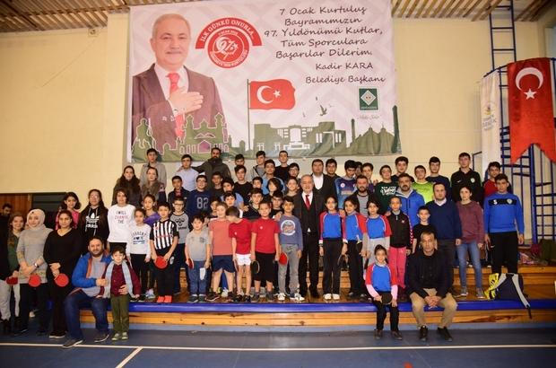 Osmaniye'de Masa Tenisi Turnuvası başladı